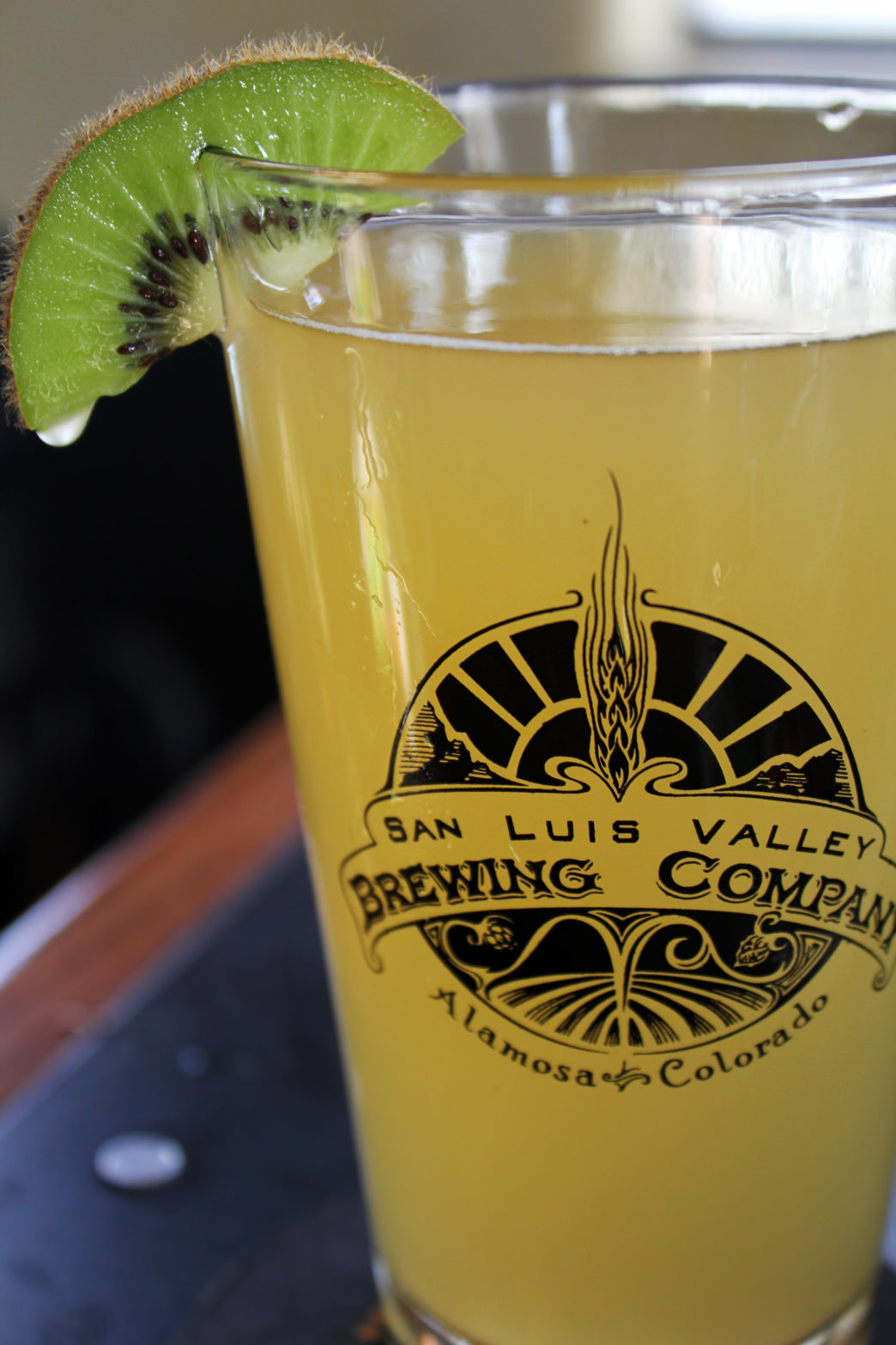 Try the kiwi beer at San Luis Valley Brewing Company.