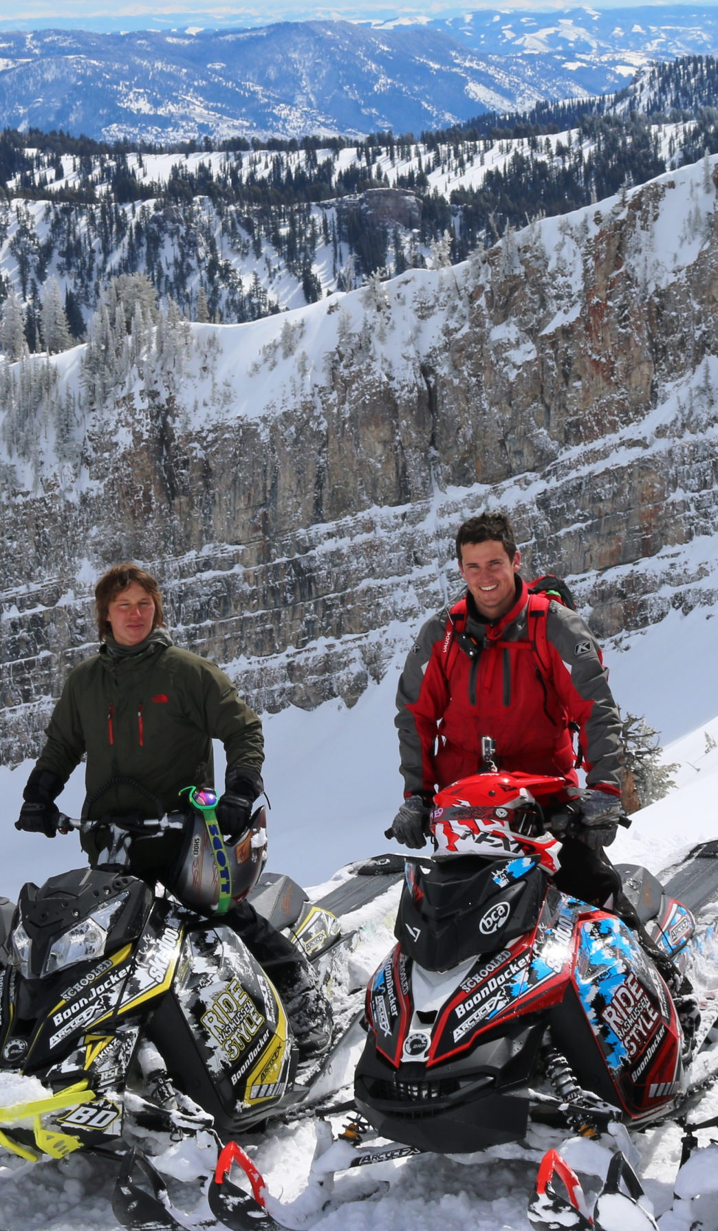 Rent snowmobiles at Beaver Creek Lodge to explore the Bear River Range.