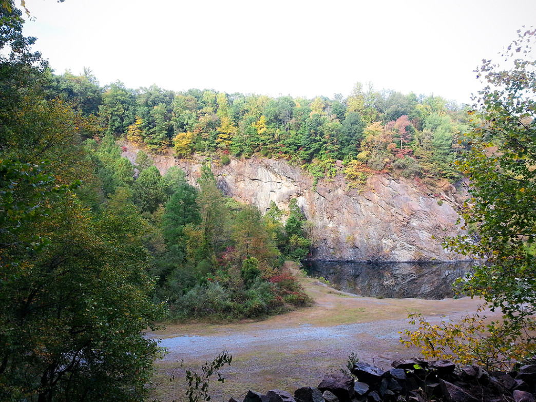 Birdsboro Quarry is the most popular crag in the Philadelphia area.