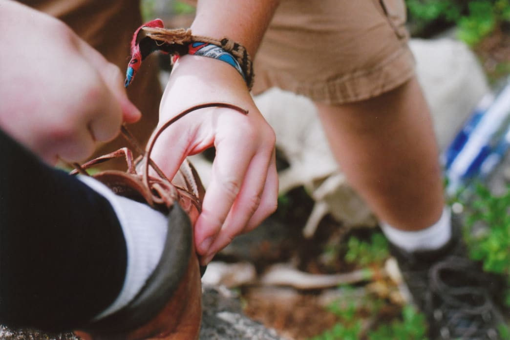 Try shoes and boots out in the store before taking them on the trail.