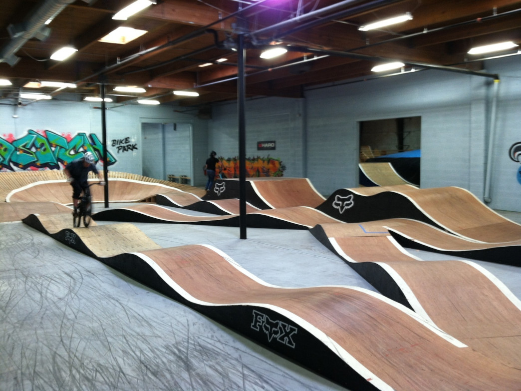 The Pump Track Room.