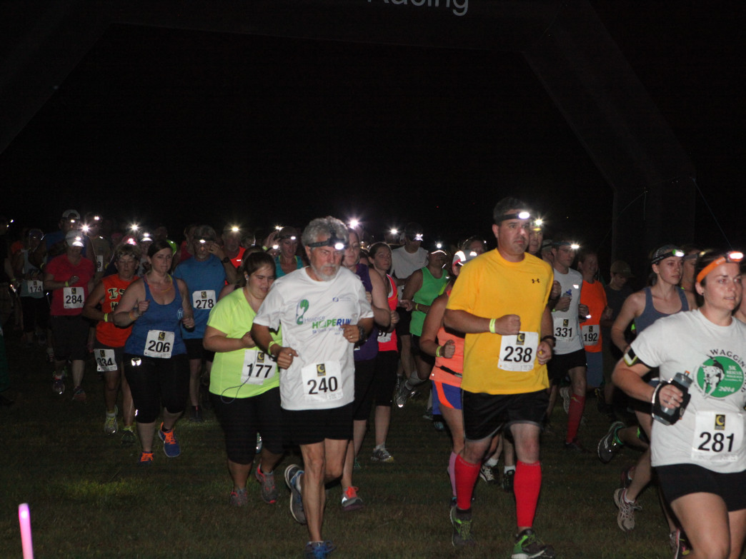 Take to the trails at night in one of the more unusual races in Birmingham.