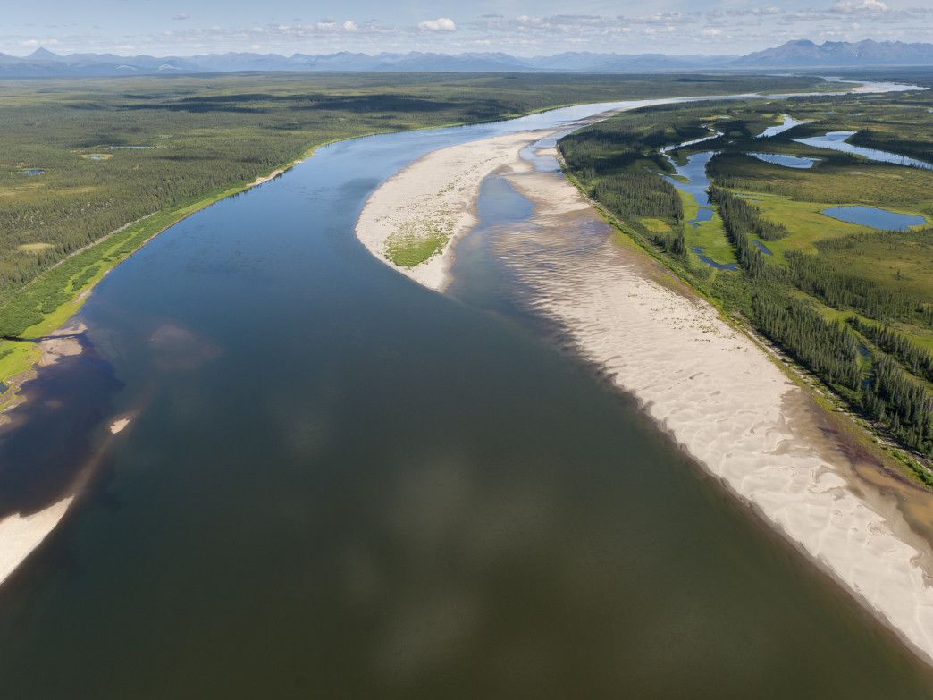 The Kobuk River.