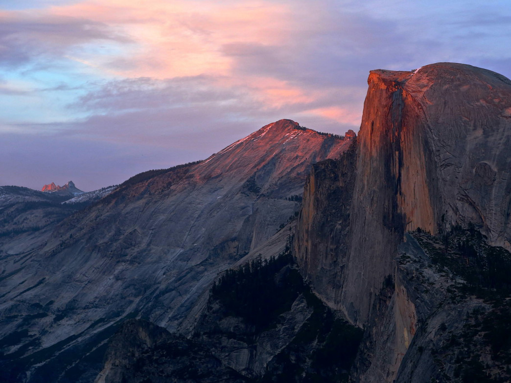 Half Dome is one of Yosemite's most iconic images.