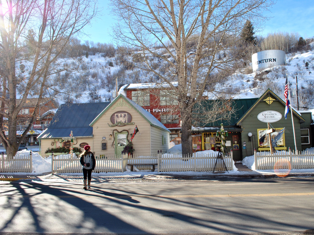 Established in 1904, Minturn is a quaint western town.