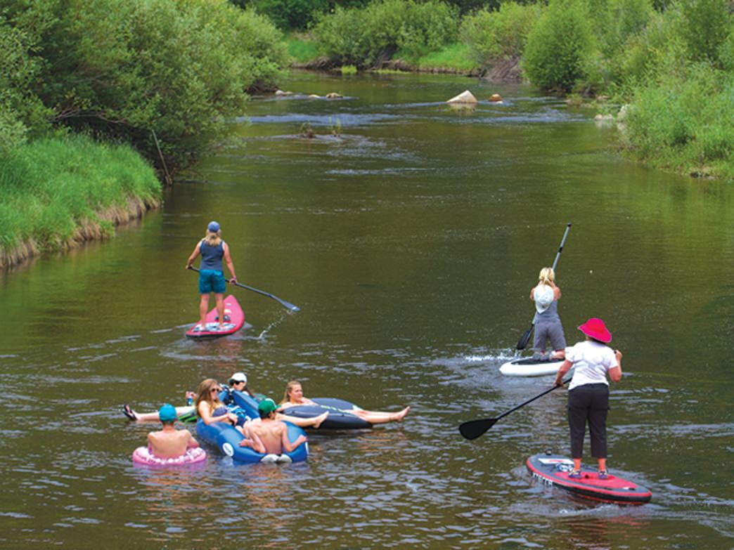 As its name suggests, Stillwater is a serene spot for all kinds of paddlers.