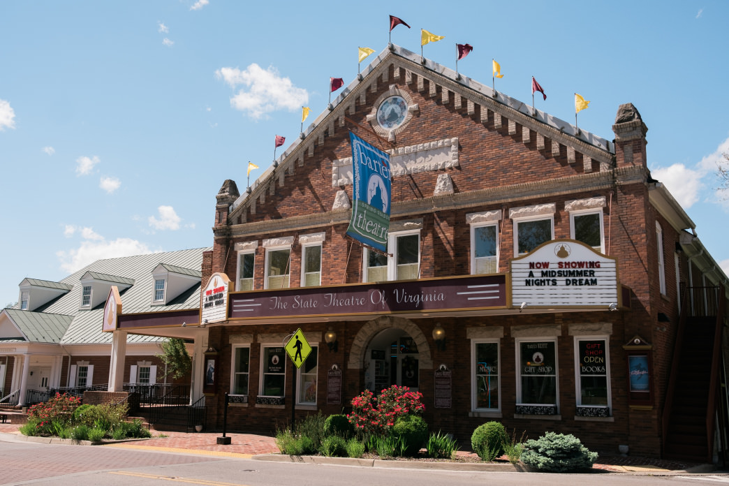 The Barter Theater in Abingdon has attracted people to the town since the 1930s. More Southwest Virginia towns are using cultural and outdoor experiences to attract visitors.