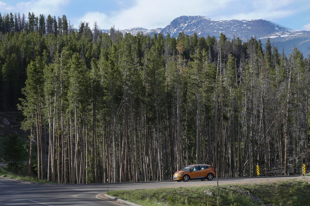 Thanks to increased range and improved power, EVs are making a strong case to explore the open road.      Barry Staver