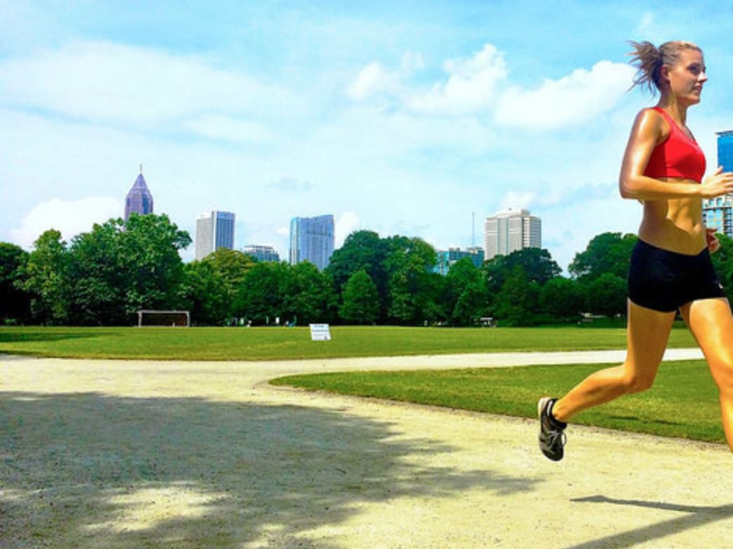Running the Active Oval