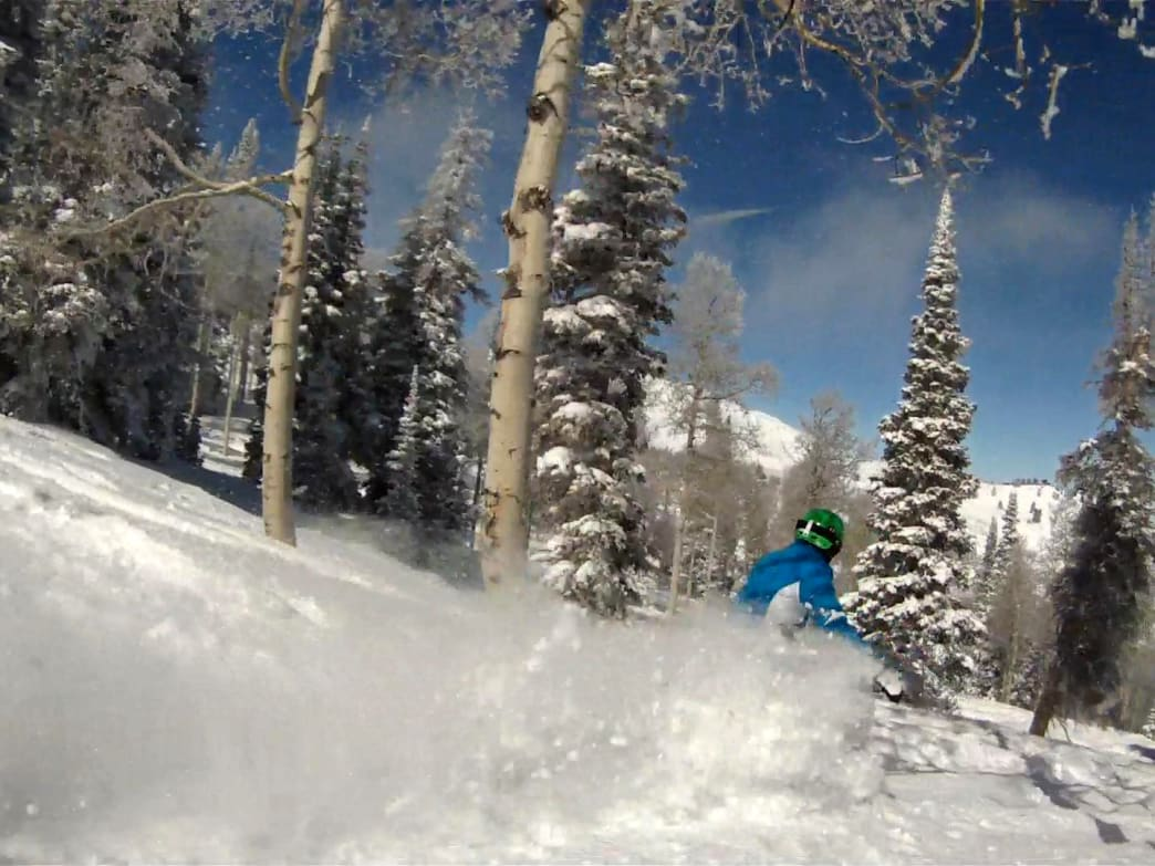 Ogden, Utah, serves as a great home base to enjoy some of the state's best skiing.