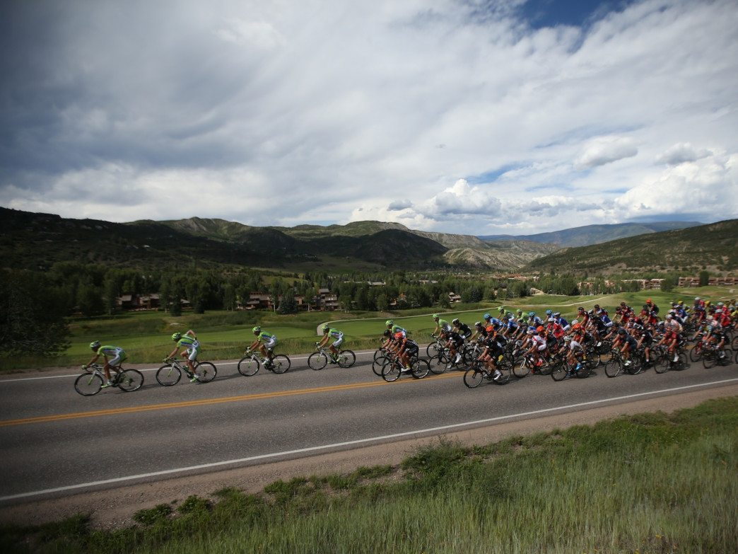 Colorado's scenery provides a stunning backdrop for the USA Pro Challenge.