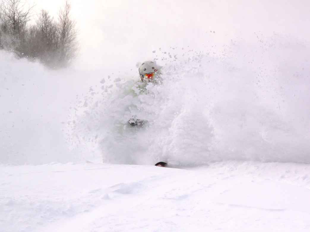 White out in the Loon backcountry