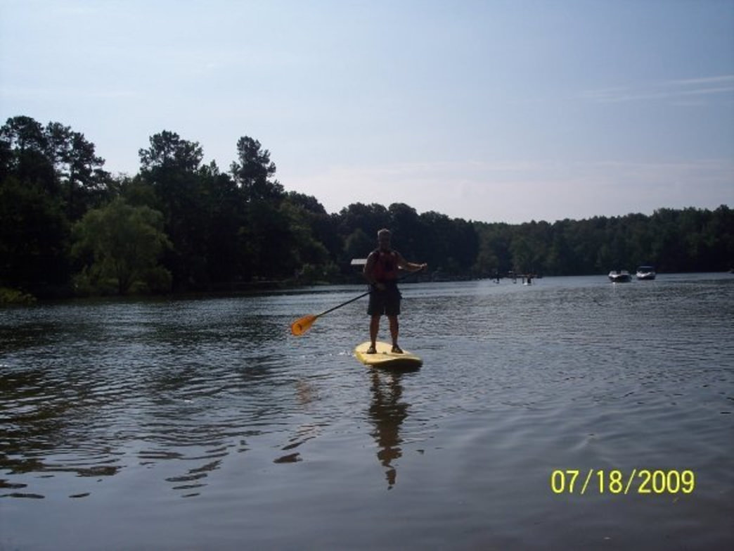 SUP offers a new way for Charlotteans to enjoy the basin
