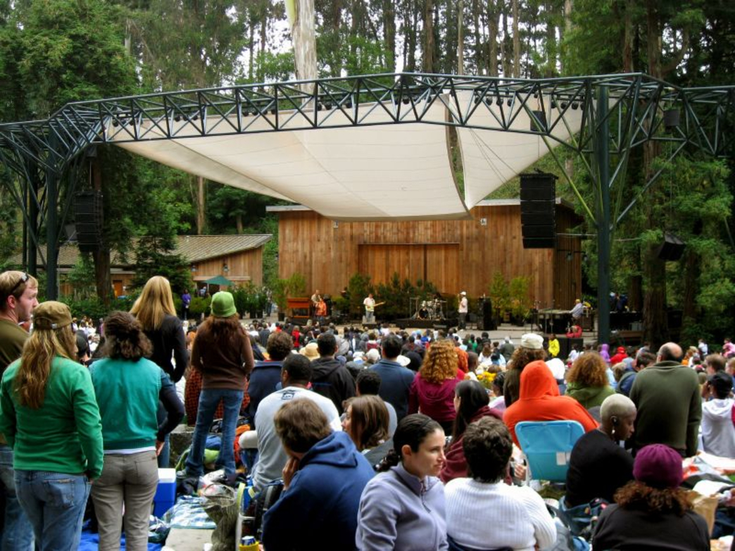 Get to Stern Grove early for seats for its free summer concert series.