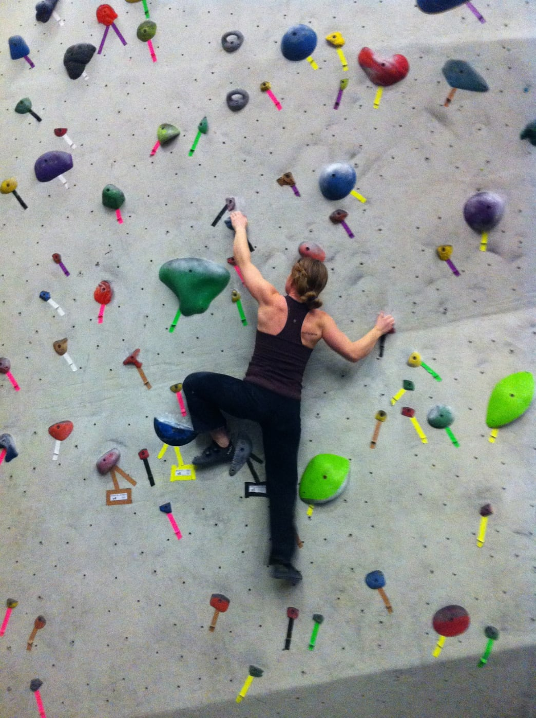 A bouldering session is one of the best workouts you can possibly get.
