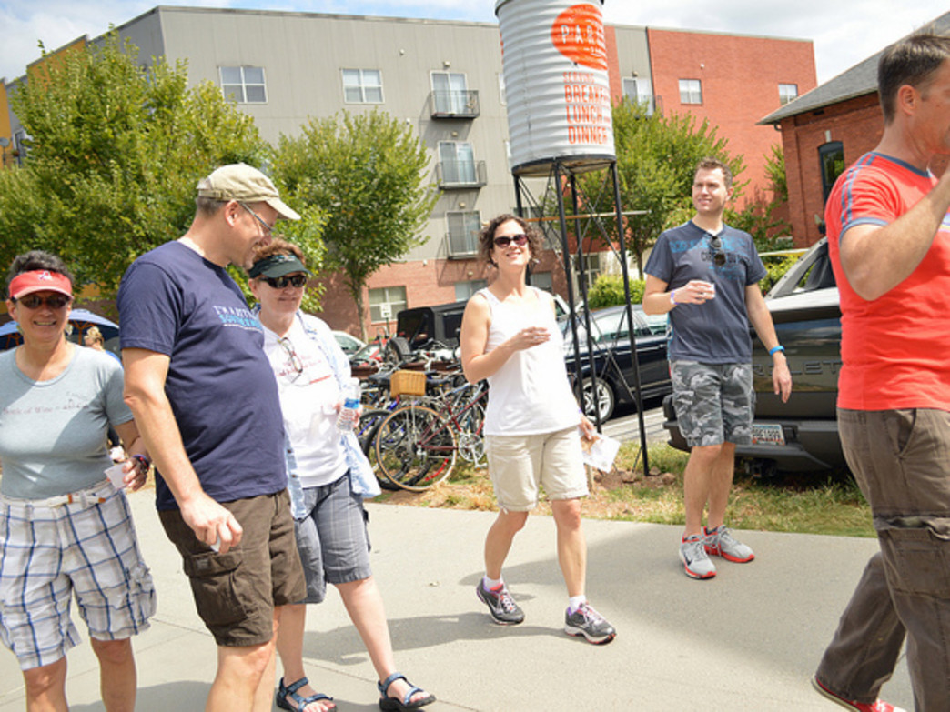 You'll find plenty of bars and restaurants just off the Eastside Trail.