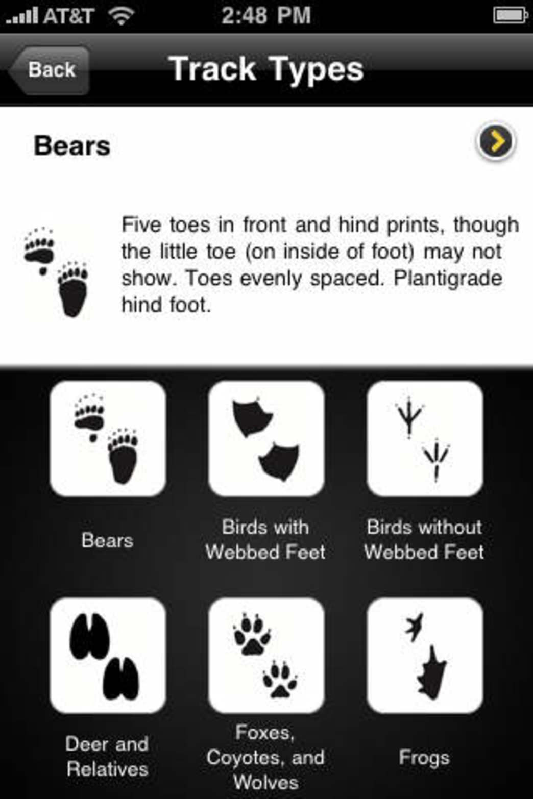 Figure out what wildlife went before you on the trail with this helpful app.