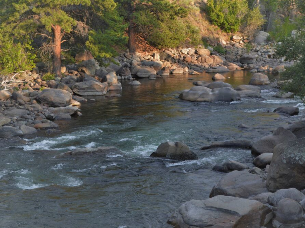For 150-miles, this gorgeous river carves its way through some of Colorado's most impressive mountains.