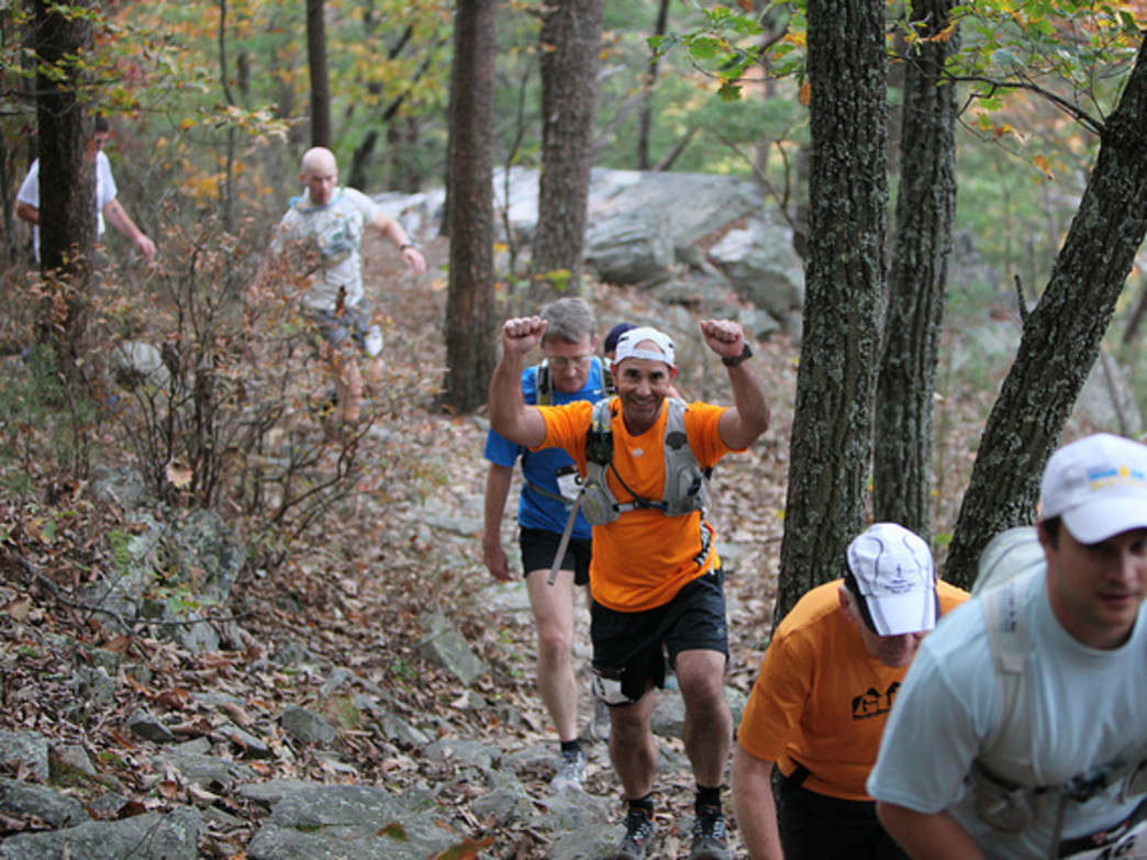 Runners love the Mountain Mystery Race.