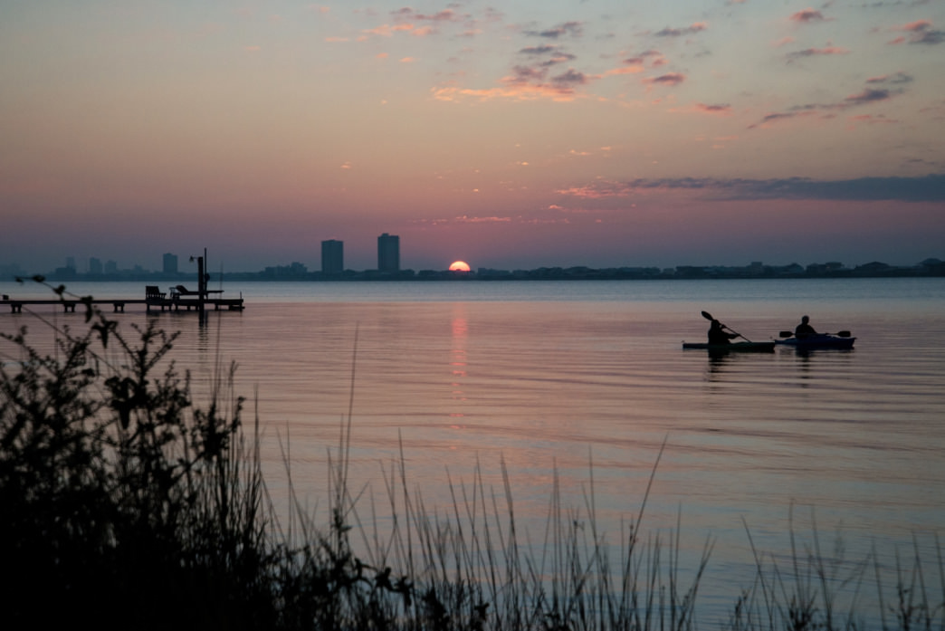 Kayaking is a great way to explore Gulf Shores and Orange Beach.