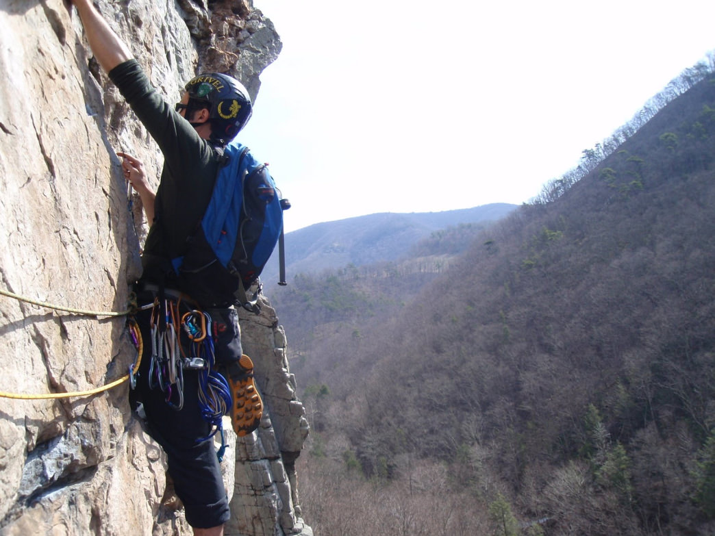 Climbing with a guide allows you to safely challenge yourself while learning new skills