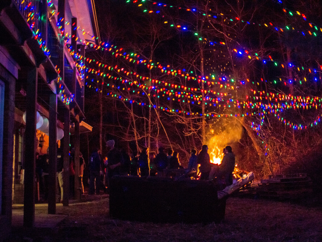 The best NYE bonfire in Chattanooga.