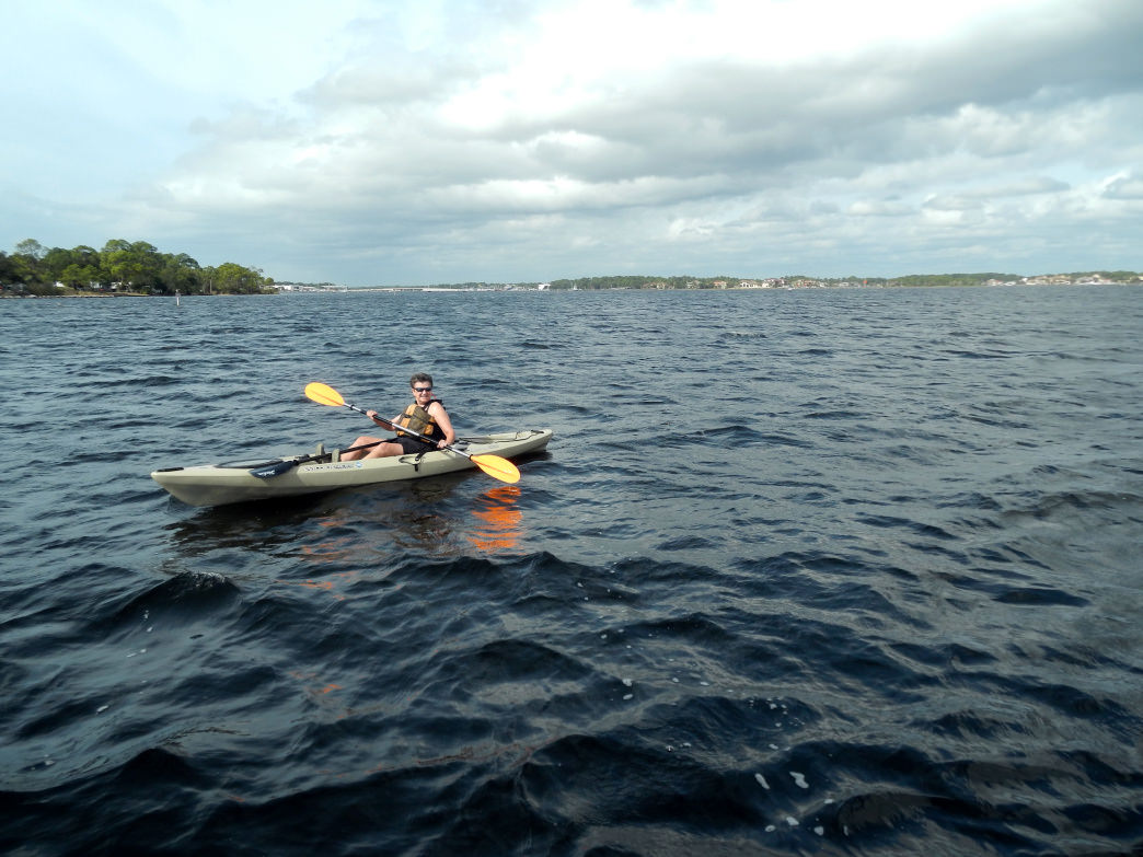 Paddling is a great way to explore the area around Panama City Beach.