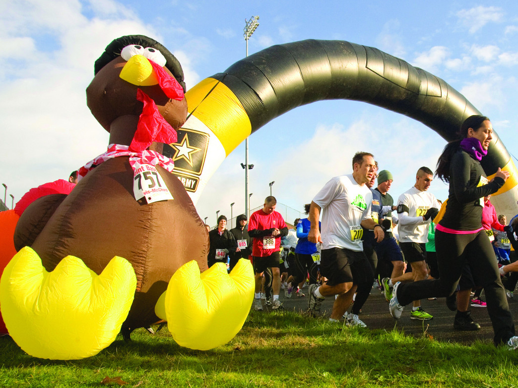 Thanksgiving has become the most popular day on the calendar to run a race.