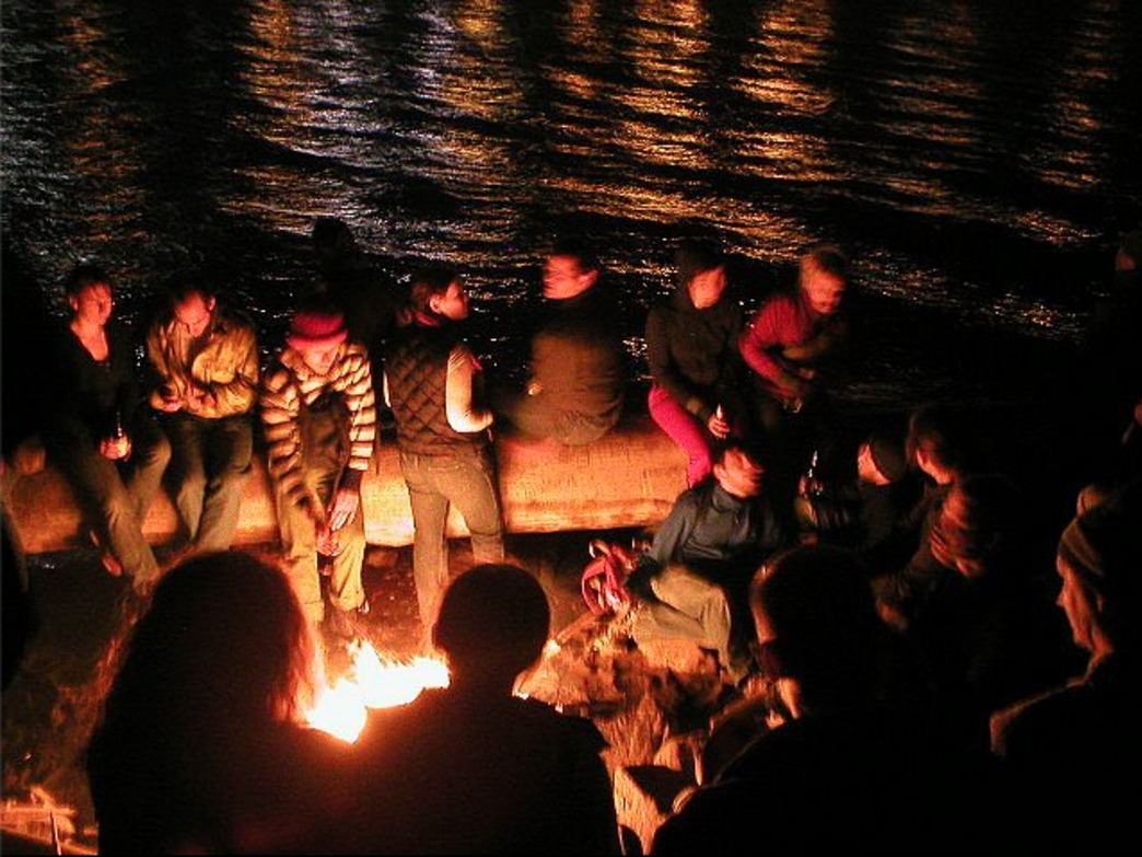 Some of the best Midnight Mystery Ride destinations include nearby waterways and communal fires, said one of the ride's organizers.