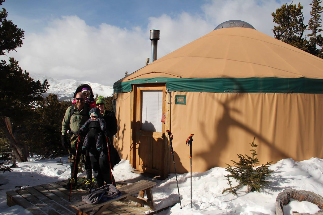 James Peak Yurt