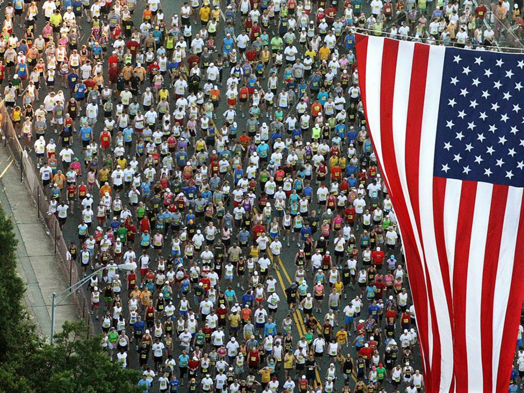 The Peachtree Road Race draws more than 60,000 runners each year.