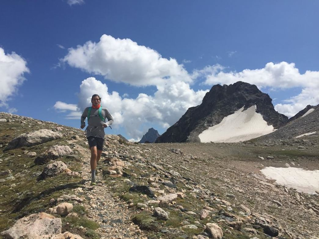 At the top of the 10,700-foot Paintbrush Divide
