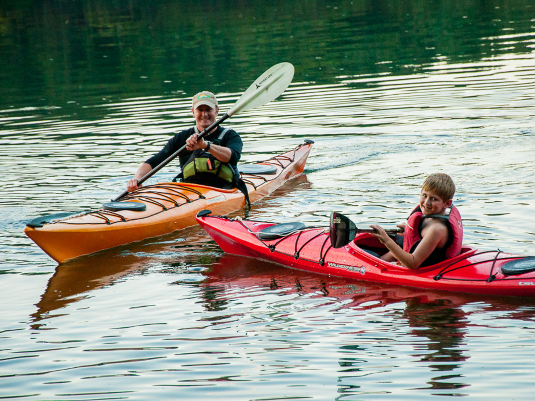 Learn to paddle this summer at Chota's Canoe and Kayak School.