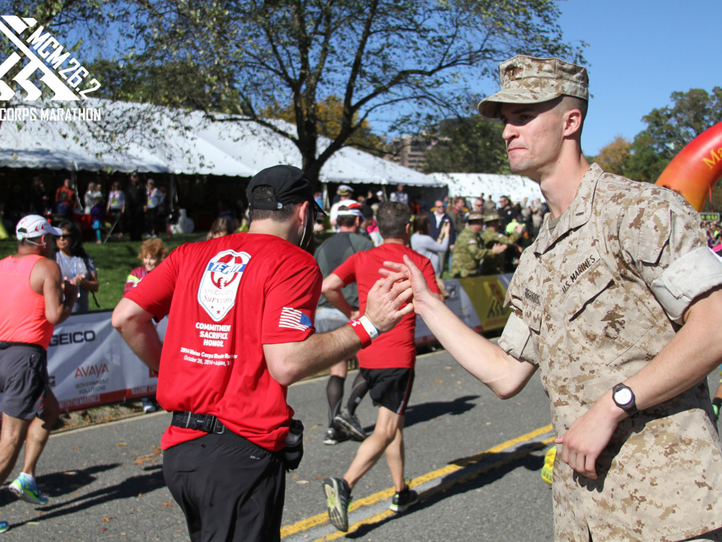 Photo: Courtesy of the Marine Corps Marathon