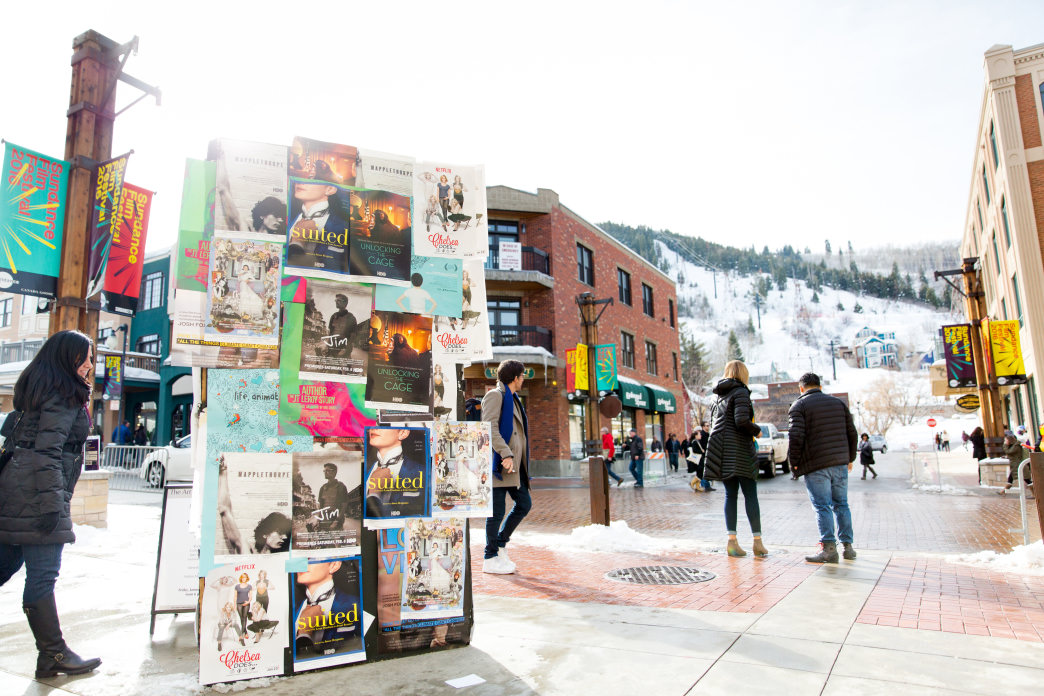 Park City has gone from ghost town to center of the entertainment universe when it hosts the Sundance Film Festival each January.