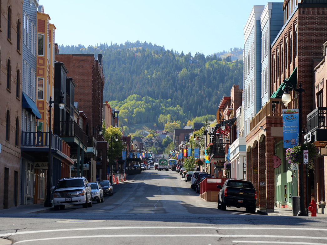 Historic Park City has plenty of shops and stores to explore.