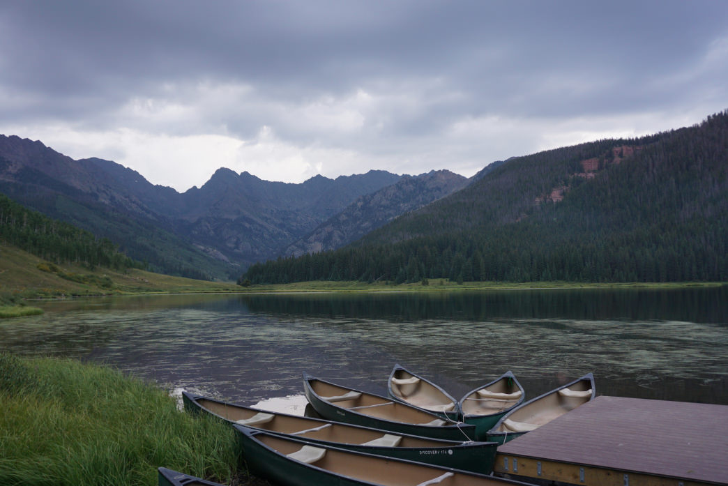 Vail's Piney Lake is a super scenic high alpine gem in the Gore Mountains.     Kirsten Dobroth