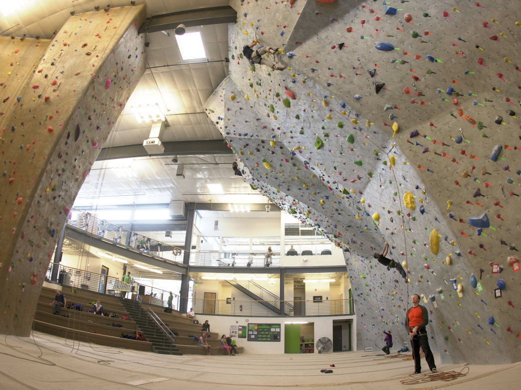 Boulder boasts some of the best climbing facilities in the country, including Movement Boulder.