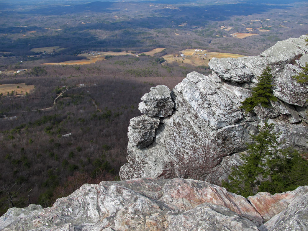 Hanging Rock State Park is a solid warm weather climbing spot.