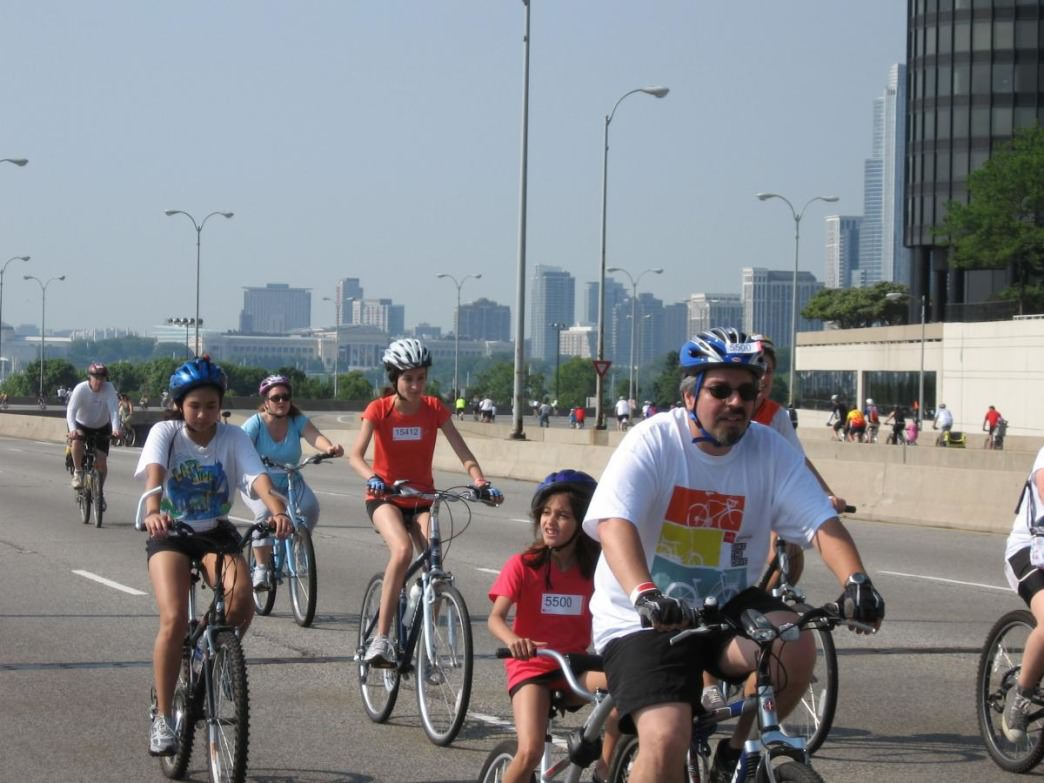 Bike the Drive takes place on May 24 this year.
