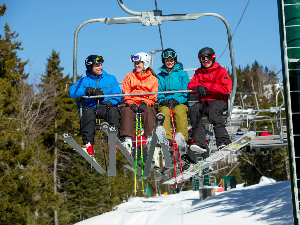 There's lots to love about Loon's family-friendly ski options.