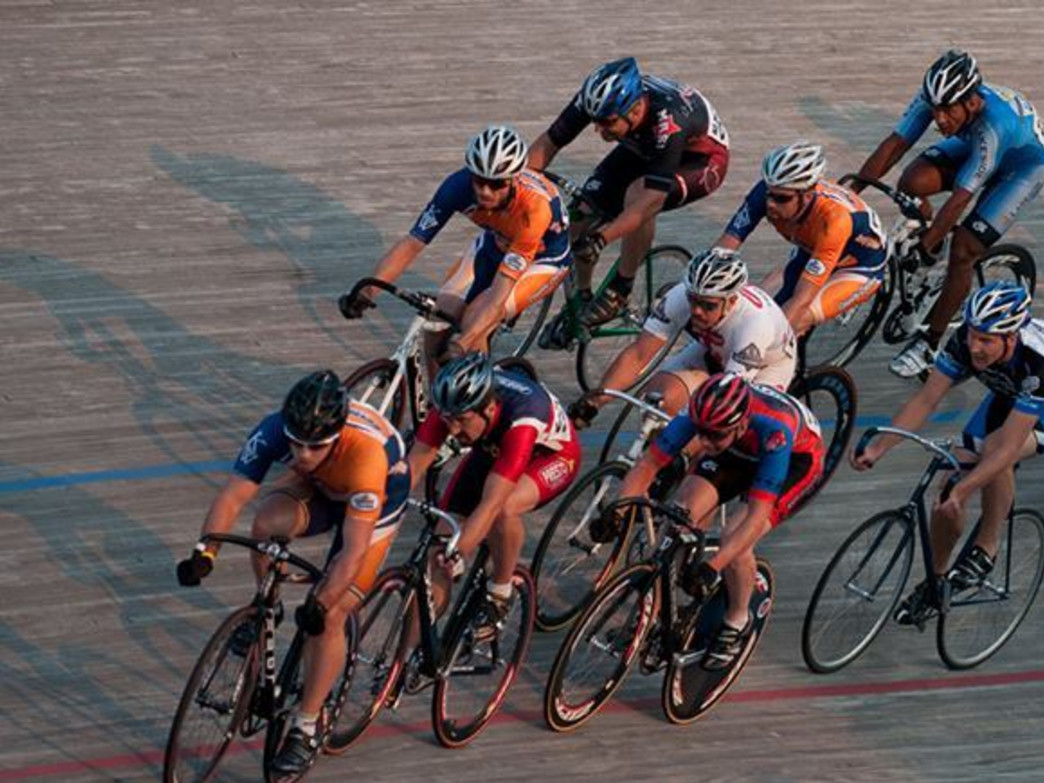 The velodrome in Blaine   was the first 250-meter track in the U.S. to be built to Olympic and world championship standards.
