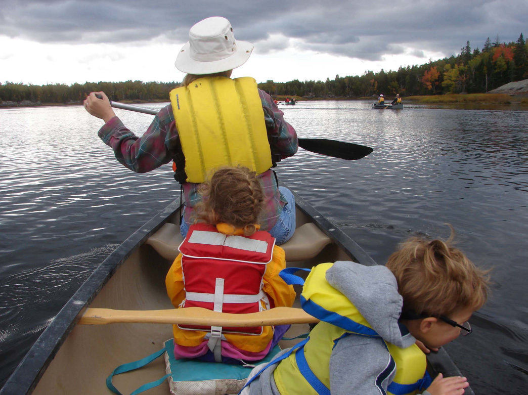 Paddling Maine's Lakes