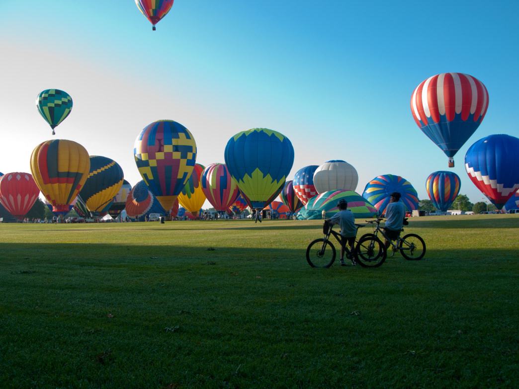 The Alabama Jubilee Hot Air Balloon Classic is just one of the awesome Alabama festivals that happen year-round.