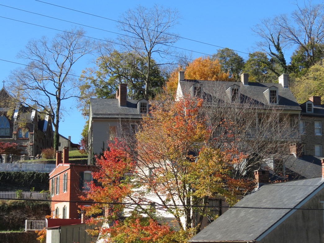 The quaintness of Harper's Ferry is hard to beat, especially in the fall.