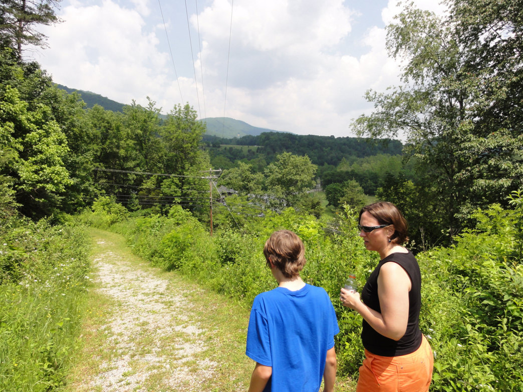 The trails in Seneca Rocks offer a variety of experiences.