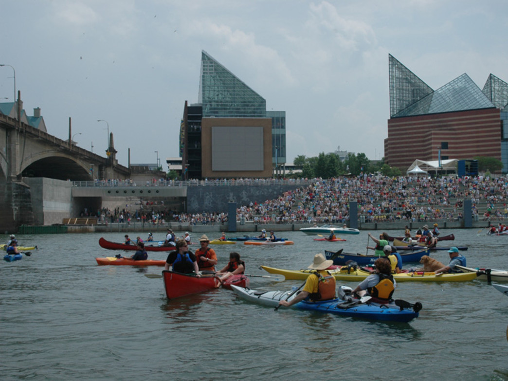 The RiverRocks Festival takes full advantage of Chattanooga's riverfront.