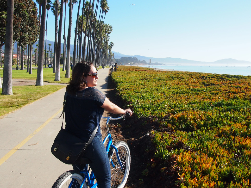 A bike is a great way to get around Santa Barbara and enjoy the amazing views.