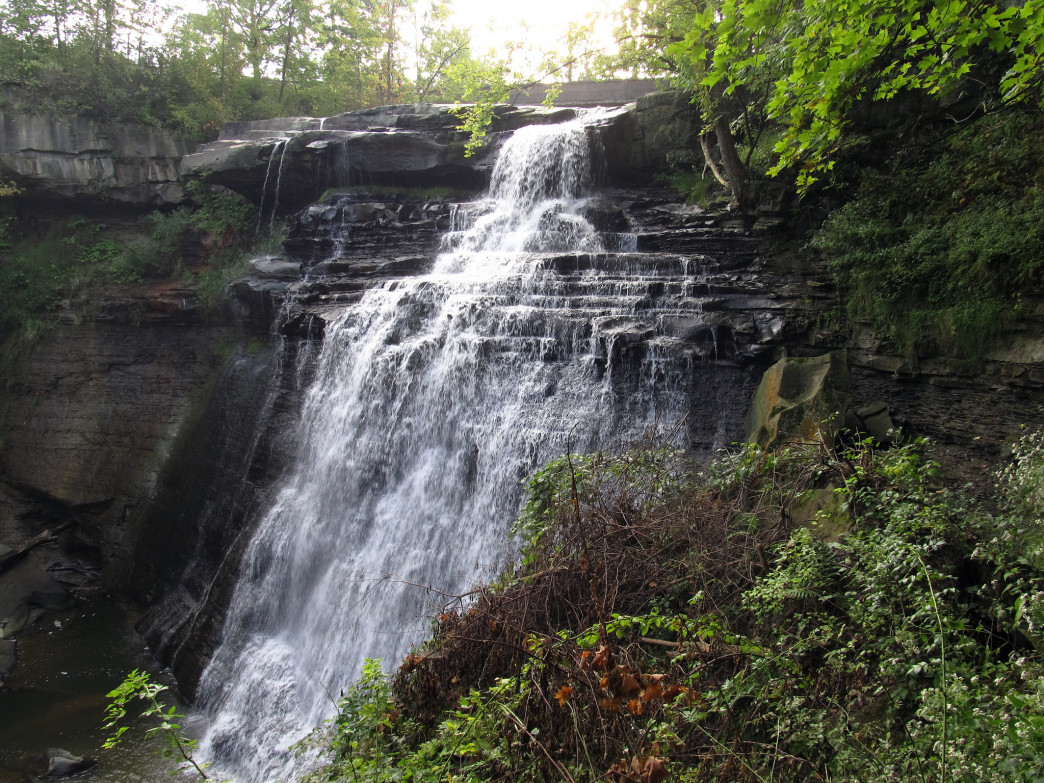Brandywin Falls at Cuyahoga National Park.