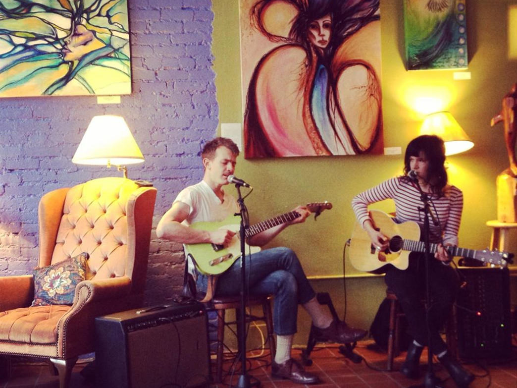 Live music at the Willow Tree Cafe and Music House.